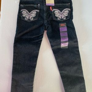 Girls Levi's Denim legging 3T NEW